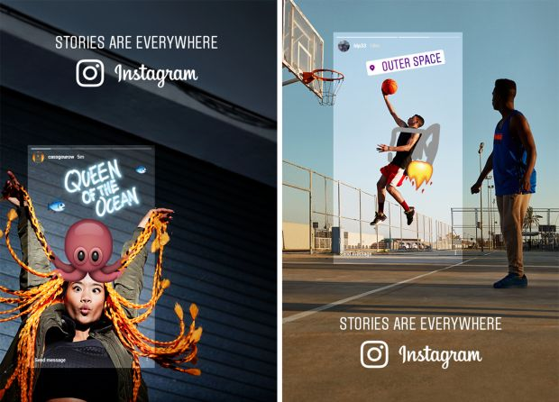 "Die Kampagne ""Stories are everywhere"" startete im April"