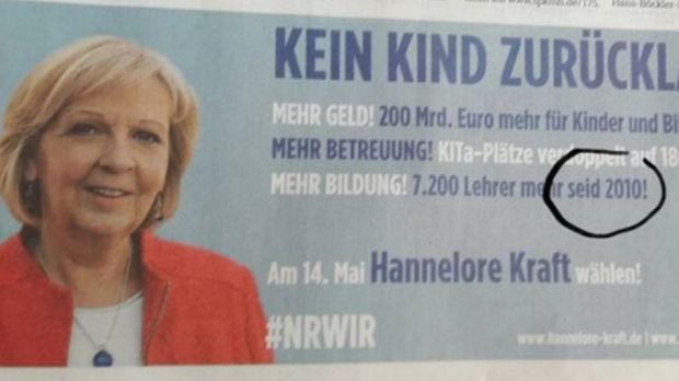 Ausgerechnet beim Thema Bildungspolitik: NRW-SPD blamiert sich mit