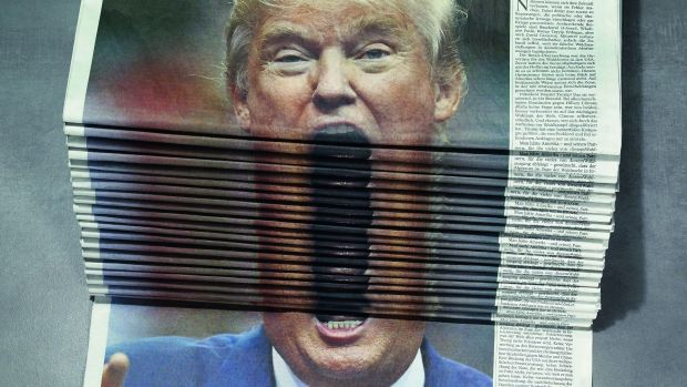 "Scholz & Friends ""Tagesspiegel"" ""Trump"""