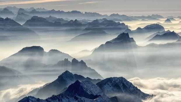 Schweizer Alpen Swiss Vor 9