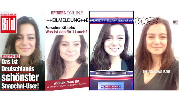 Snapchat Discover startet in Deutschland mit