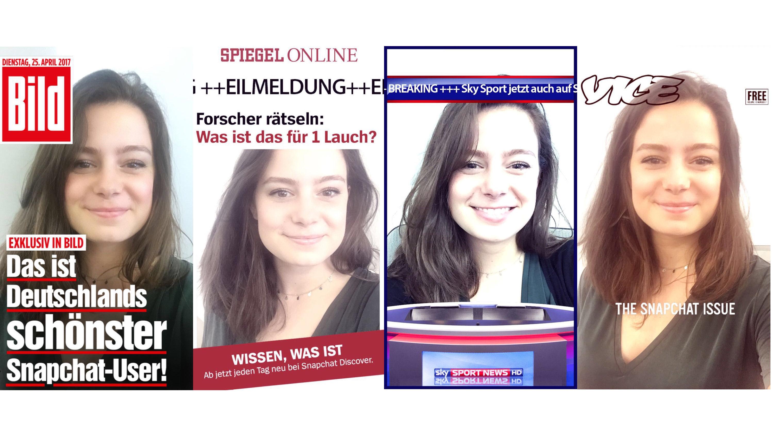 Deutschland-Offensive: Snapchat startet Discover-Rubrik mit Bild ...