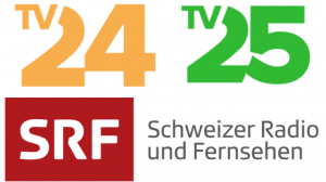 TV 24, TV 25, SRF Logo 2017
