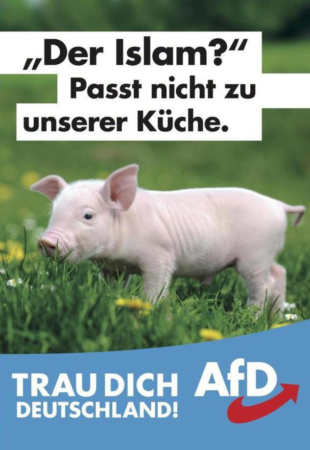 Afd Werbung