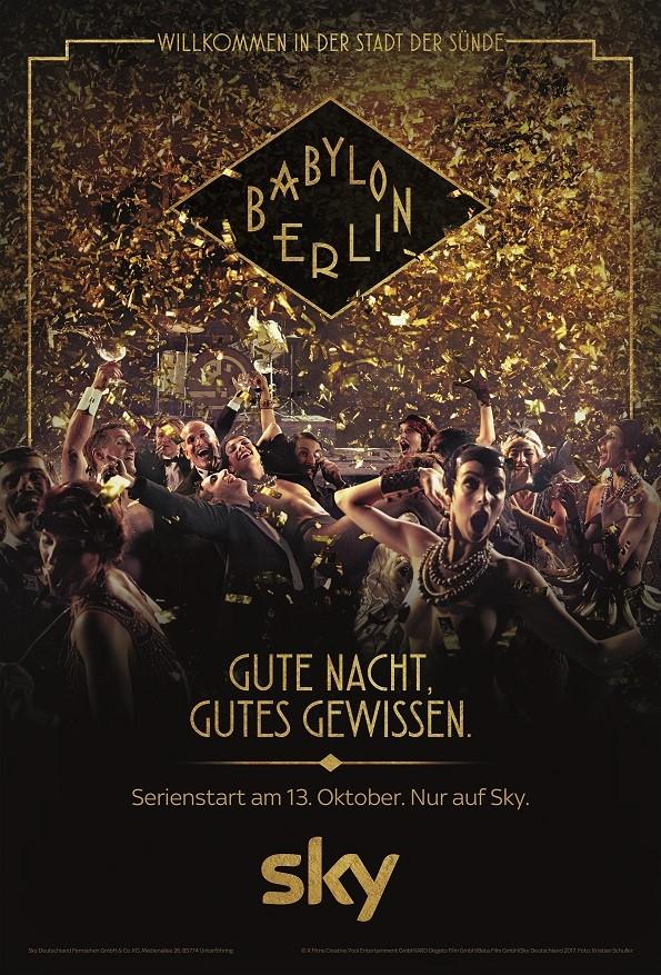 Babylon Berlin So Wirbt Sky Für Die Neue Crime History Serie