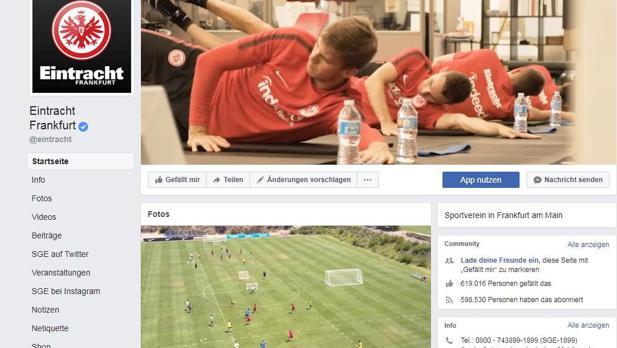 Facebook Eintracht Frankfurt