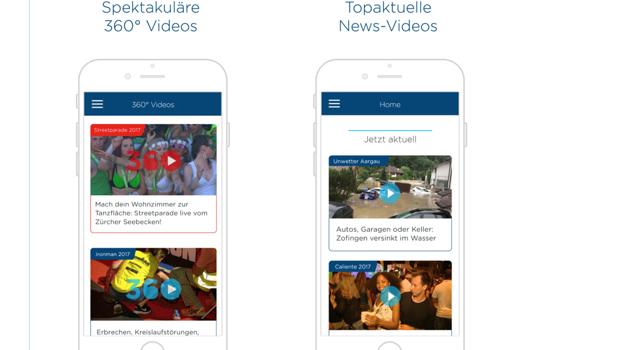 Die neue App von Tele Züri