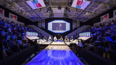 """Lightening the age of transformation"" lautet in diesem Jahr das Motto der Dmexco"