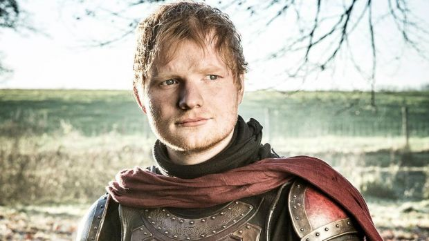 "Ed Sheeran in ""Game of Thrones""."