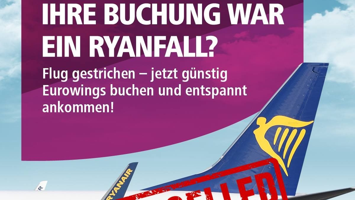 Ryanair Werbung