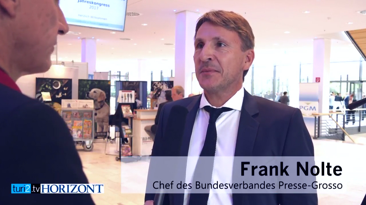 Frank Nolte im Interview mit Peter Turi