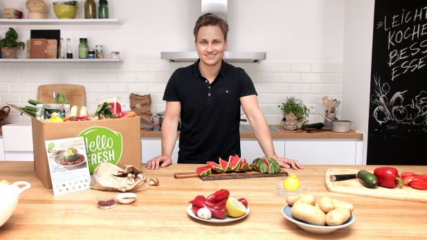 HelloFresh-CEO Dominik Richter