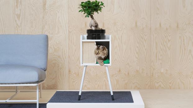 kratzmatten tierbetten und co bei ikea gibt es endlich m bel f r hunde und katzen. Black Bedroom Furniture Sets. Home Design Ideas