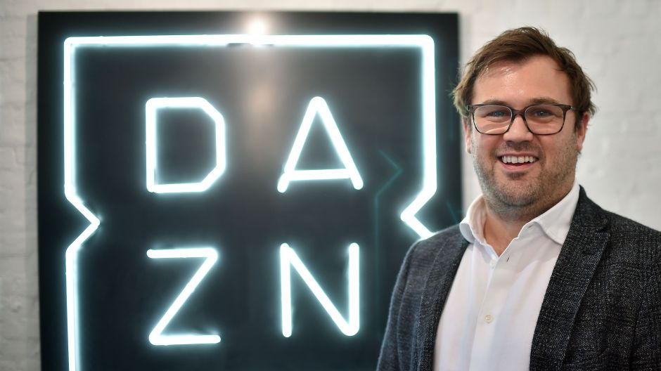 DAZN-CEO James Rushton