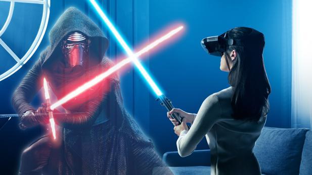 VR-Brille: Lenovo lässt Star-Wars-Fans das Lichtschwert schwingen