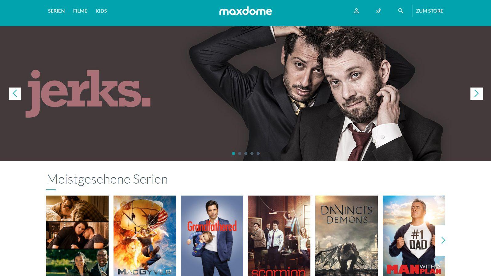 Maxdome Neue Serien