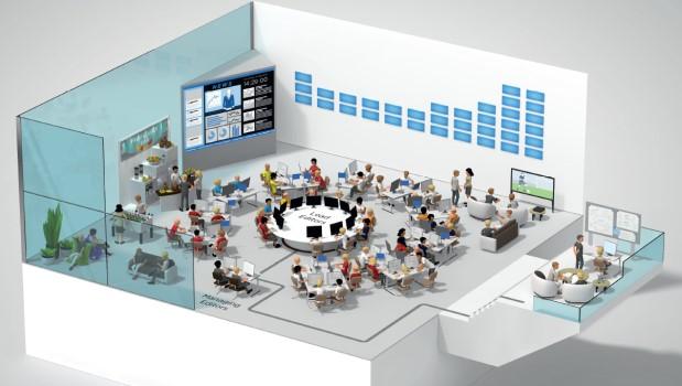 Microsoft öffnet zentralen Newsroom in Berlin