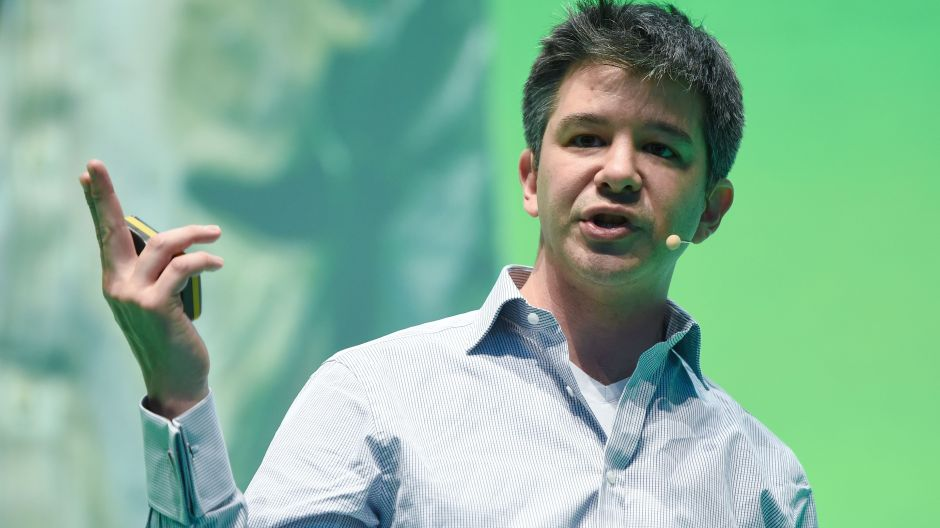 Uber-Boss Travis Kalanick