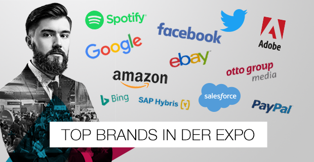 dmexco Top Brands in der Expo