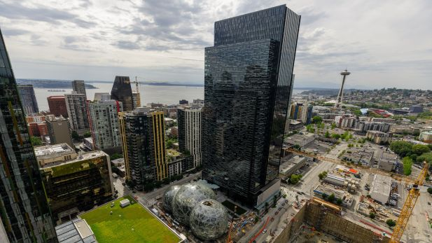 Das Amazon-Headquarter in Seattle