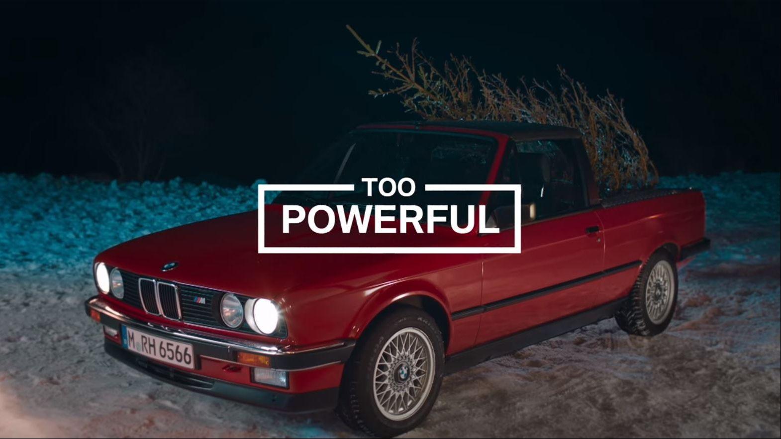Jung von Matt/Next Alster: Wie der BMW M-3 einem Weihnachtsbaum ...