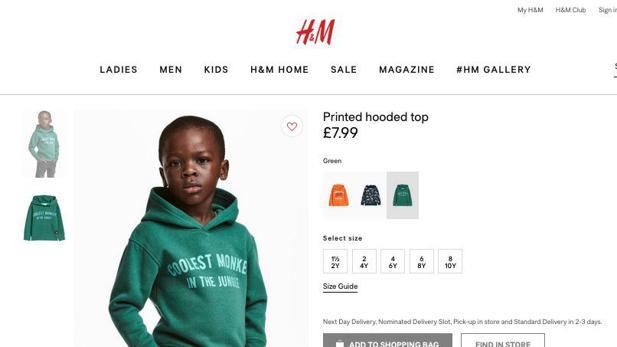 Nach Rassismus Vorwurf P Diddy Bietet Dem Hm Jungen Werbevertrag An