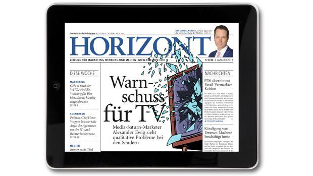HORIZONT Tablet-Ausgabe 1/2018
