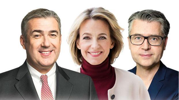 Jürgen Gerdes, Julia Jäkel und Matthias Schrader werden mit dem HORIZONT Award