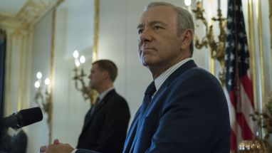 "Kevin Spacey als US-Präsident Frank Underwood in ""House of Cards"""