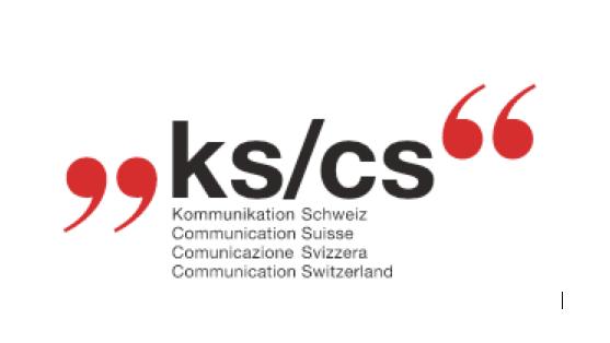 Kommunikation Schweiz KS/CS Logo 2017