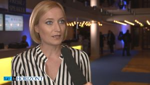 Laura Himmelreich im Video-Interview beim Deutschen Medienkongress in Frankfurt