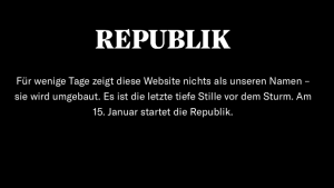 Republik schwarze Website
