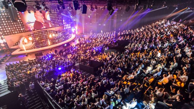 Screening und Entertainment: Fanta 4 rockten den Screenforce Day 2017