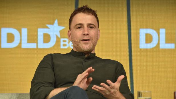 Slack-CEO Stewart Butterfield heute beim DLD in Berlin.