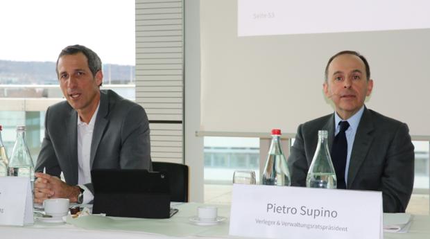 Christoph Tonini und Pietro Supino 2018