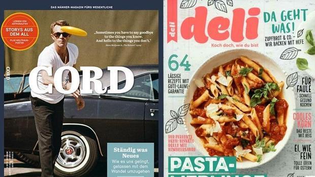 Gruner Und Jahr Zeitschriften zeitschriften gruner jahr stellt deli und cord ein