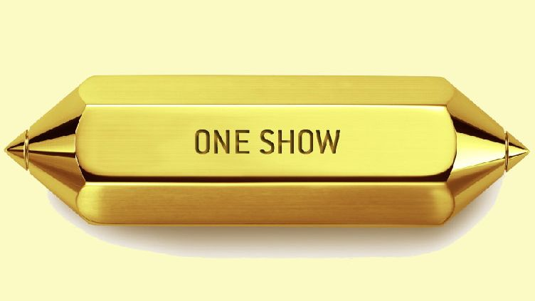 Der goldene Pencil der One Show