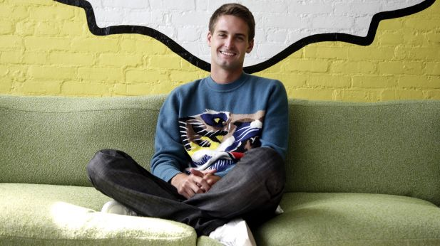 Snap-CEO Evan Spiegel