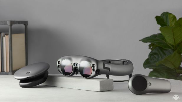 Das Mixed-Reality-Set Magic Leap One