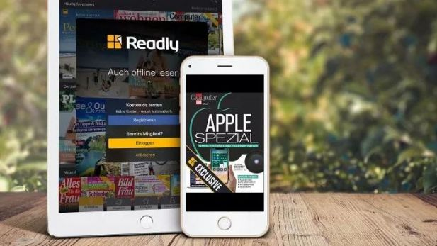 "Axel Springer und Readly starten ""Apple Spezial"""