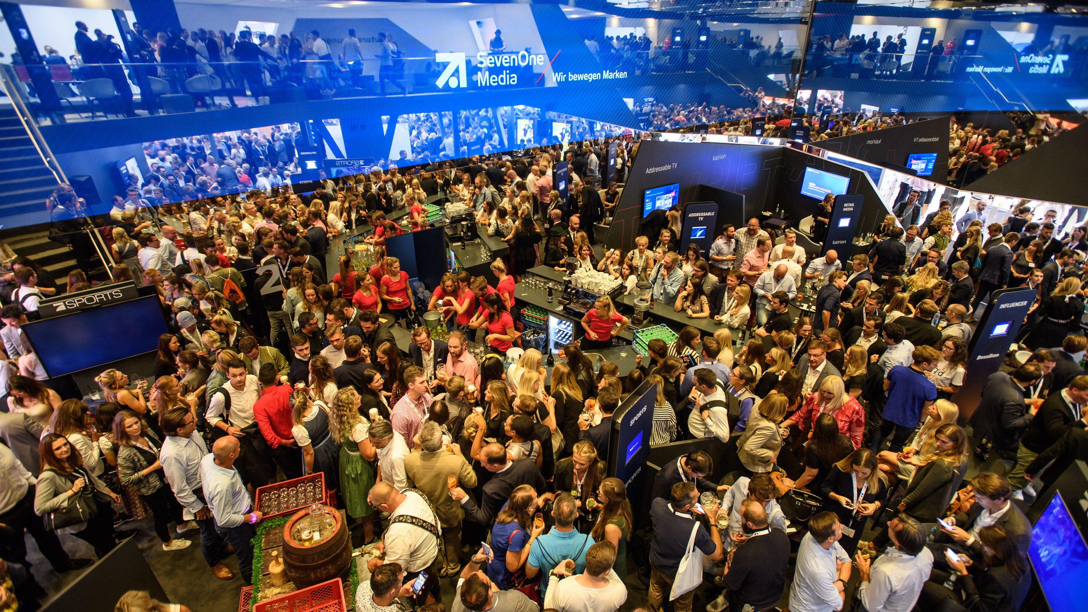 Promis, Partys, Stages: Die besten Bilder von der Dmexco 2018