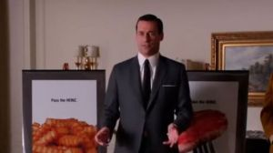 "Don Drapers Pitch bei den Heinz-Leuten in der sechsten Staffel von ""Mad Men"""