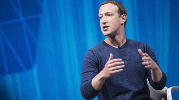 Facebook-Chef Mark Zuckerberg auf der VivaTech in Paris