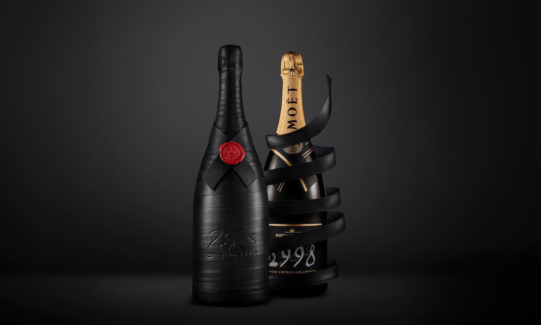 mo t chandon champagner marke feiert roger federer mit luxus edition. Black Bedroom Furniture Sets. Home Design Ideas