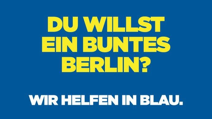 Image- und Recruitung-Kampagne: Zum goldenen Hirschen und Polizei Berlin starten in die nächste Runde
