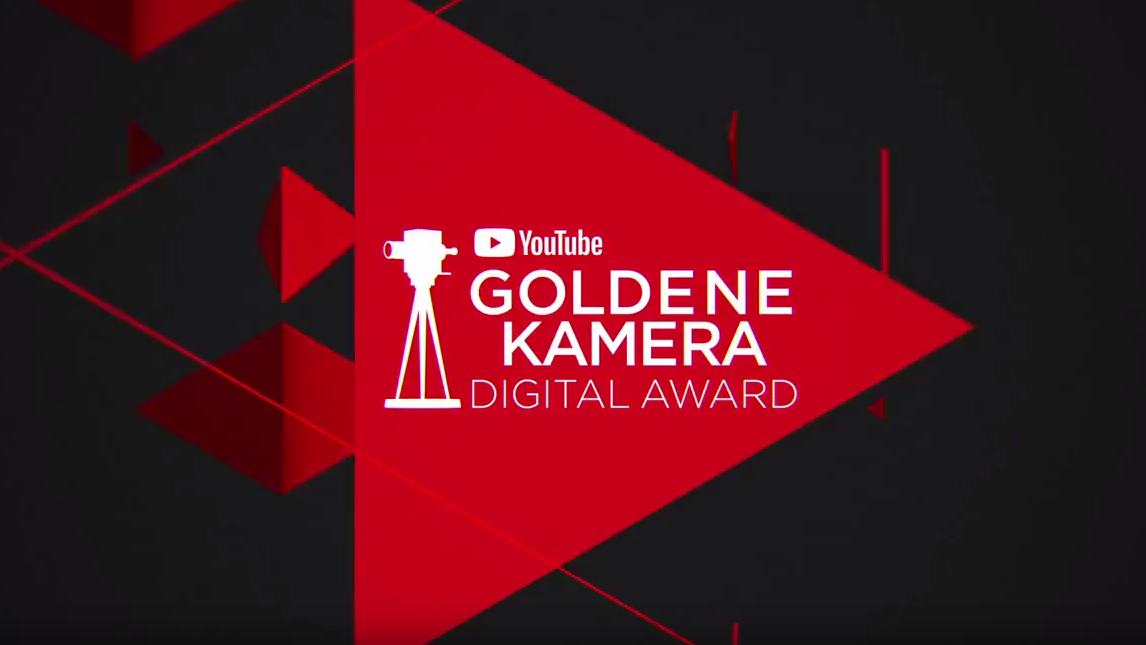 Der Youtube Goldene Kamera Digital Award wird am 27. September auf dem Youtube-Festival verliehen