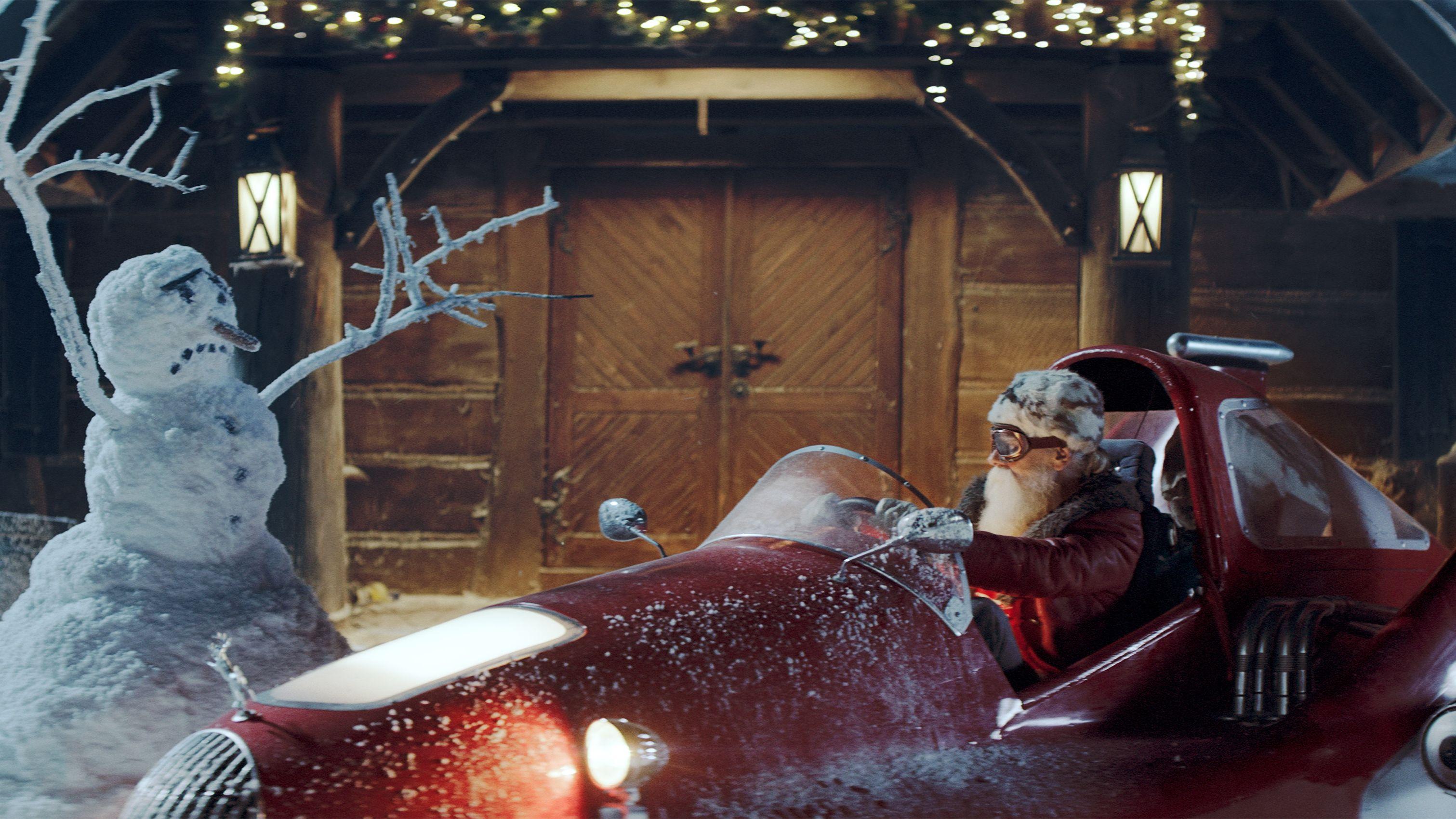Inhouse-Kampagne: Warum der Weihnachtsmann bei Kaufland einkauft