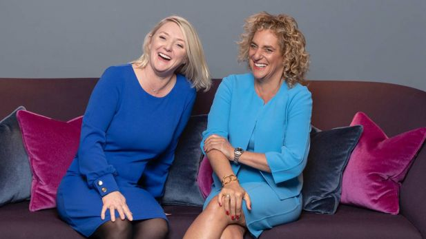 Mel Edwards, CEO Wunderman Thompson (l.), und Tamara Ingram, Chairwoman