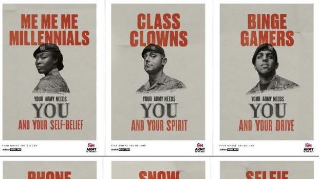 Millennials British Army