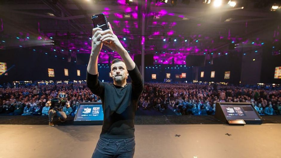 Marketing-Guru Gary Vaynerchuk auf dem OMR Festival in Hamburg